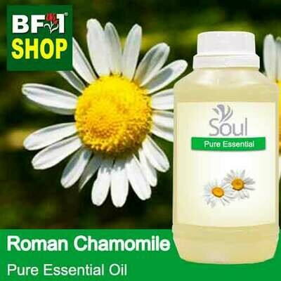 Pure Essential Oil (EO) - Chamomile - Roman Chamomile Essential Oil - 500ml