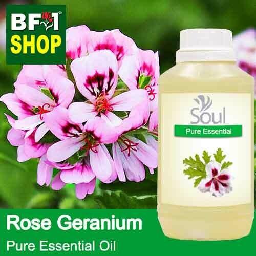 Pure Essential Oil (EO) - Geranium - Rose Geranium Essential Oil - 500ml