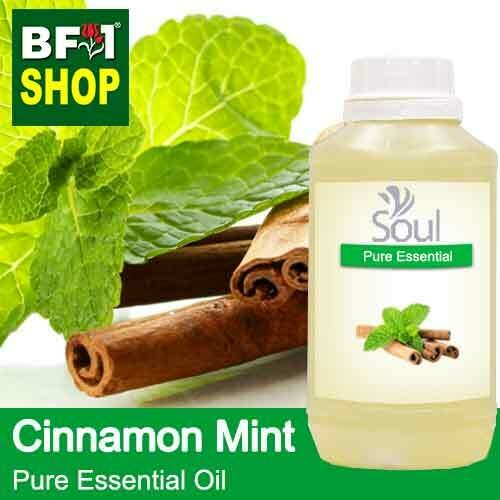 Pure Essential Oil (EO) - Mint - Cinnamon Mint Essential Oil - 500ml