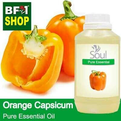 Pure Essential Oil (EO) - Capsicum Orange Essential Oil - 500ml