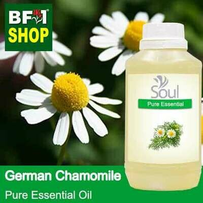 Pure Essential Oil (EO) - Chamomile - German Chamomile Essential Oil - 500ml