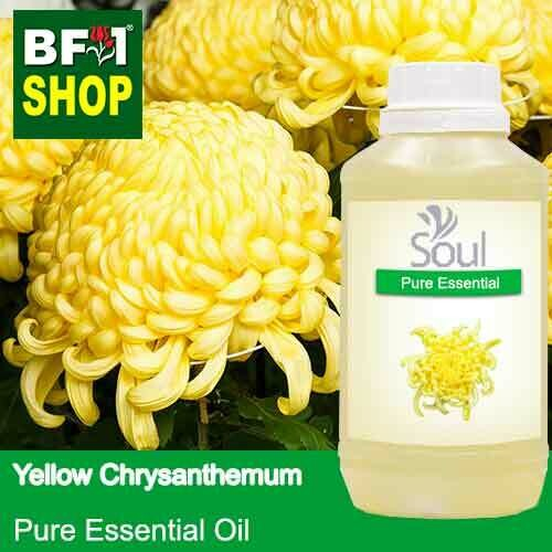 Pure Essential Oil (EO) - Chrysanthemum - Yellow Chrysanthemum Essential Oil - 500ml