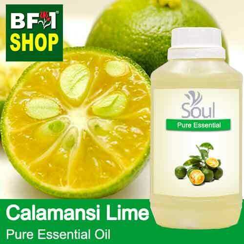 Pure Essential Oil (EO) - Lime - Calamansi Lime Essential Oil - 500ml