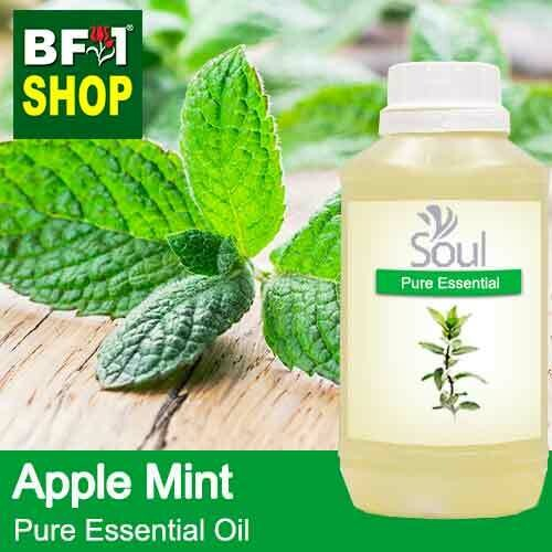 Pure Essential Oil (EO) - Mint - Apple Mint ( Mentha Suaveolens ) Essential Oil - 500ml