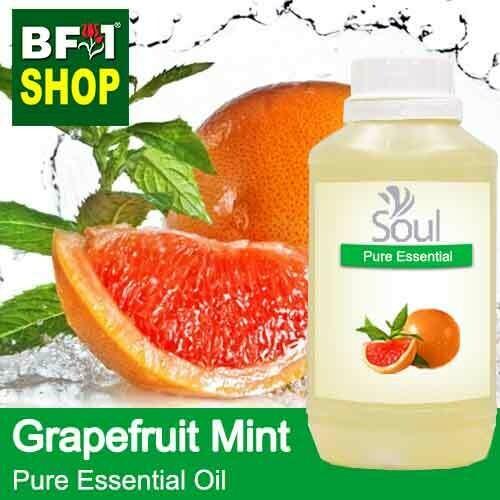 Pure Essential Oil (EO) - Mint - Grapefruit Mint ( Mentha Piperita ) Essential Oil - 500ml