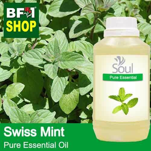 Pure Essential Oil (EO) - Mint - Swiss Mint ( Mentha Spicata ) Essential Oil - 500ml