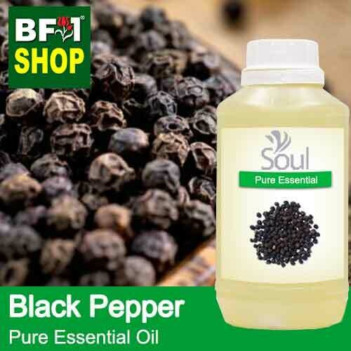 Pure Essential Oil (EO) - Pepper - Black Pepper Essential Oil - 500ml