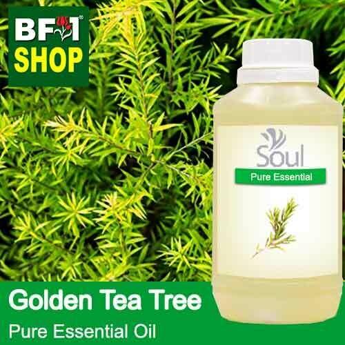 Pure Essential Oil (EO) - Tea Tree - Golden Tea Tree Essential Oil - 500ml