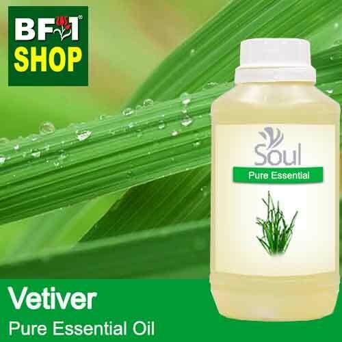 Pure Essential Oil (EO) - Vetiver Essential Oil - 500ml