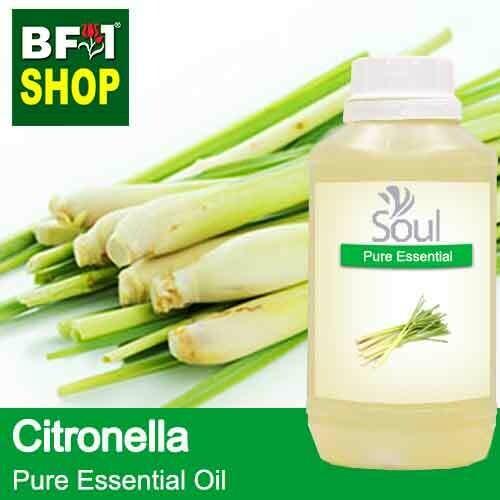 Pure Essential Oil (EO) - Citronella ( Java Citronella ) Essential Oil - 500ml