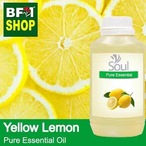 Pure Essential Oil (EO) - Lemon - Yellow Lemon Essential Oil - 500ml