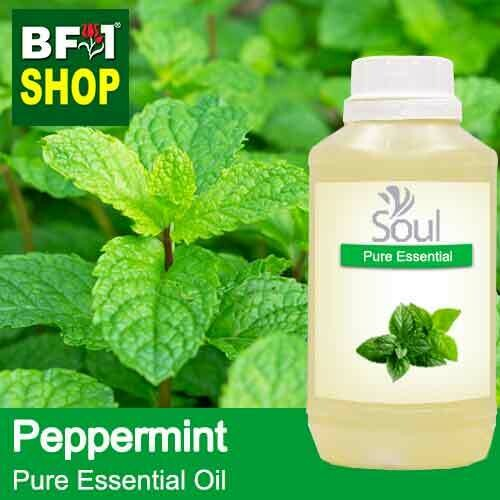 Pure Essential Oil (EO) - Mint - Peppermint ( Mentha Piperita ) Essential Oil - 500ml