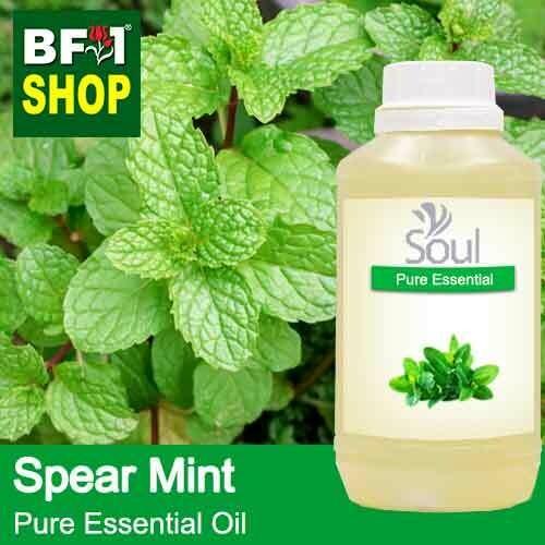 Pure Essential Oil (EO) - Mint - Spear Mint Essential Oil - 500ml