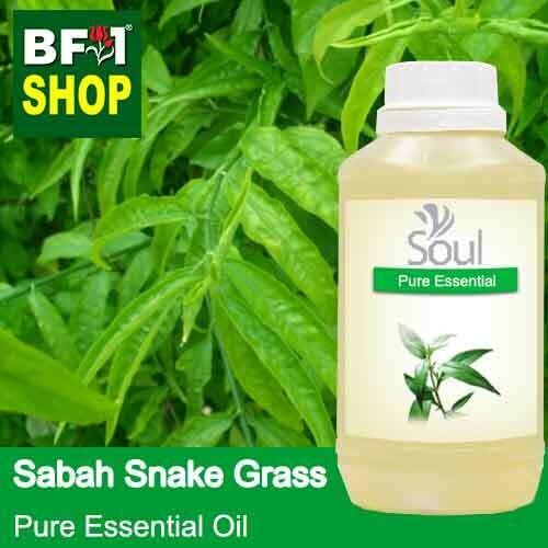 Pure Essential Oil (EO) - Sabah Snake Grass Essential Oil - 500ml