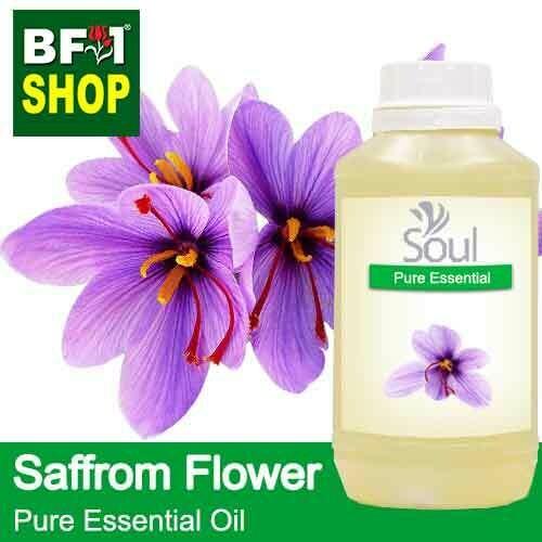 Pure Essential Oil (EO) - Saffron Flower (Crocus sativus) Essential Oil - 500ml