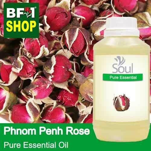 Pure Essential Oil (EO) - Rose - Phnom Penh Rose Essential Oil - 500ml
