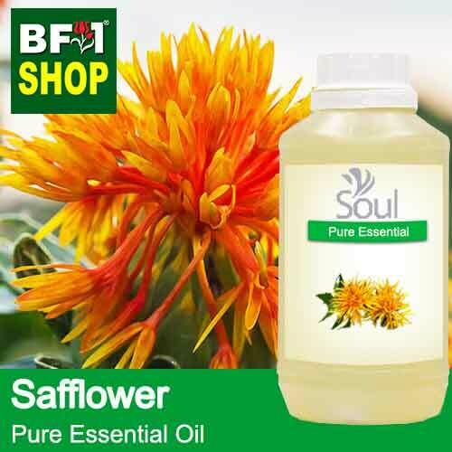 Pure Essential Oil (EO) - Safflower (Carthamus Tinctorius) Essential Oil - 500ml
