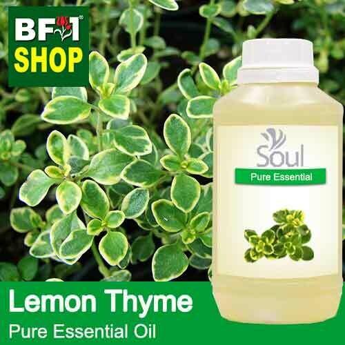 Pure Essential Oil (EO) - Thyme - Lemon Thyme Essential Oil - 500ml