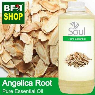 Pure Essential Oil (EO) - Angelica Root Essential Oil - 1L