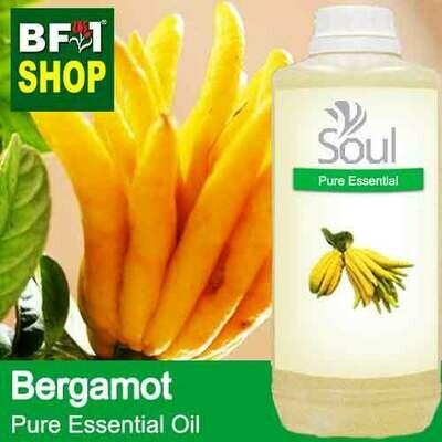 Pure Essential Oil (EO) - Bergamot Essential Oil - 1L