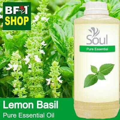 Pure Essential Oil (EO) - Basil - Lemon Basil ( Citriodorum Basil ) Essential Oil - 1L