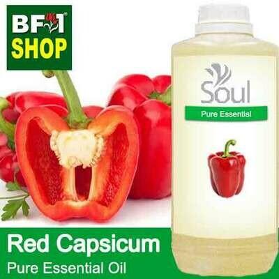 Pure Essential Oil (EO) - Capsicum Red Essential Oil - 1L