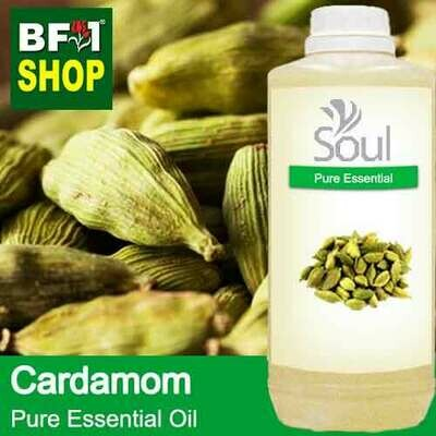 Pure Essential Oil (EO) - Cardamom Essential Oil - 1L