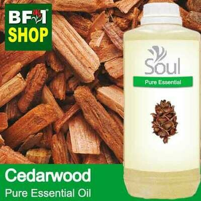 Pure Essential Oil (EO) - Cedar Wood Essential Oil - 1L