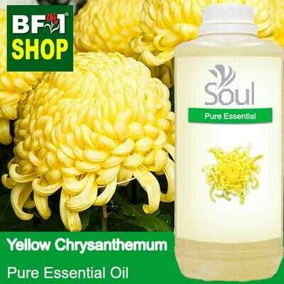 Pure Essential Oil (EO) - Chrysanthemum - Yellow Chrysanthemum Essential Oil - 1L