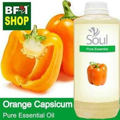 Pure Essential Oil (EO) - Capsicum Orange Essential Oil - 1L