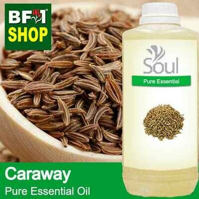 Pure Essential Oil (EO) - Caraway Essential Oil - 1L