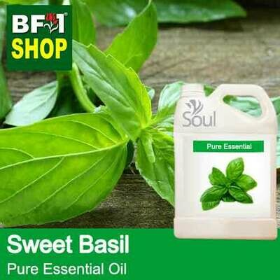 Pure Essential Oil (EO) - Basil - Sweet Basil ( Giant Basil ) Essential Oil - 5L