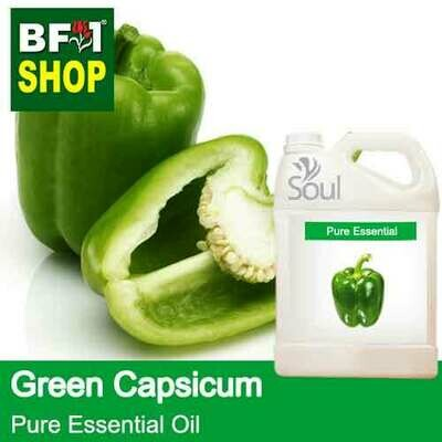 Pure Essential Oil (EO) - Capsicum Green Essential Oil - 5L