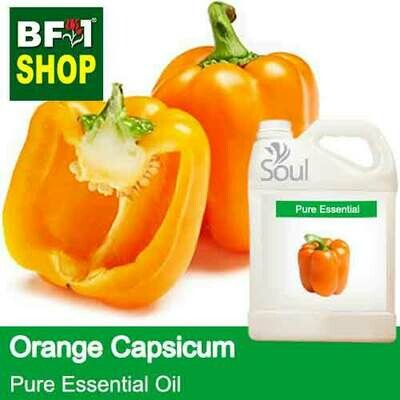 Pure Essential Oil (EO) - Capsicum Orange Essential Oil - 5L