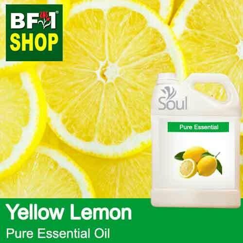 Pure Essential Oil (EO) - Lemon - Yellow Lemon Essential Oil - 5L
