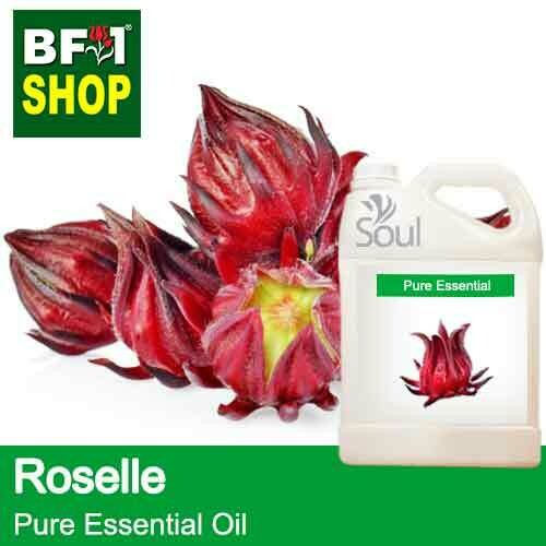 Pure Essential Oil (EO) - Roselle Flower Essential Oil - 5L