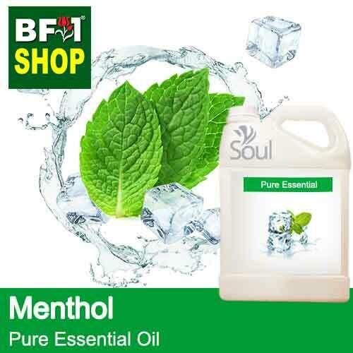 Pure Essential Oil (EO) - Menthol Essential Oil - 5L