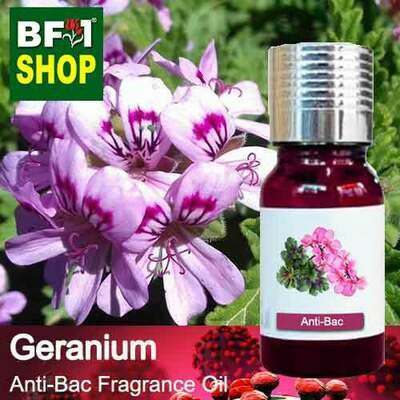 Anti-Bac Fragrance Oil (ABF) - Geranium Anti-Bac Fragrance Oil - 10ml