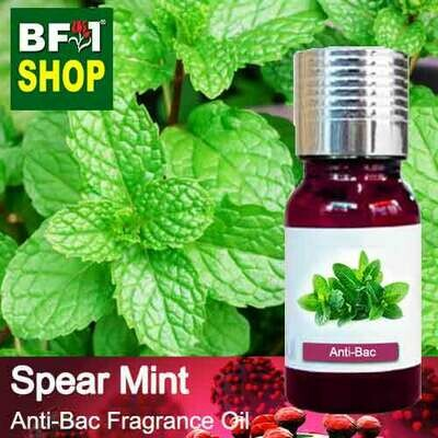 Anti-Bac Fragrance Oil (ABF) - mint - Spear Mint Anti-Bac Fragrance Oil - 10ml