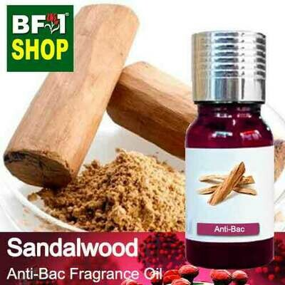 Anti-Bac Fragrance Oil (ABF) - Sandalwood Anti-Bac Fragrance Oil - 10ml