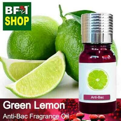 Anti-Bac Fragrance Oil (ABF) - Lemon - Green Lemon Anti-Bac Fragrance Oil - 10ml