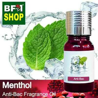 Anti-Bac Fragrance Oil (ABF) - Menthol Anti-Bac Fragrance Oil - 10ml
