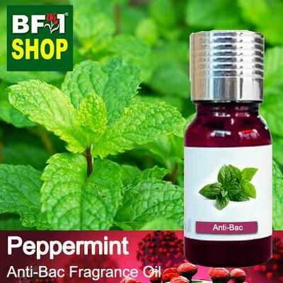 Anti-Bac Fragrance Oil (ABF) - mint - Peppermint Anti-Bac Fragrance Oil - 10ml