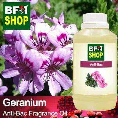 Anti-Bac Fragrance Oil (ABF) - Geranium Anti-Bac Fragrance Oil - 500ml
