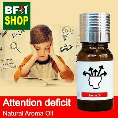 Natural Aroma Oil (AO) - Attention deficit Aroma Oil - 10ml
