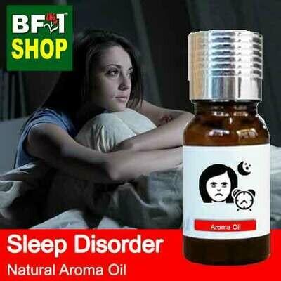 Natural Aroma Oil (AO) - Sleep disorder Aroma Oil - 10ml