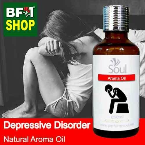 Natural Aroma Oil (AO) - Depressive disorder Aroma Oil - 50ml