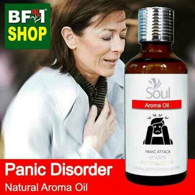 Natural Aroma Oil (AO) - Panic disorder Aroma Oil - 50ml