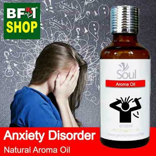 Natural Aroma Oil (AO) - Anxiety disorder Aroma Oil - 50ml