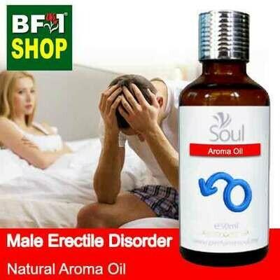 Natural Aroma Oil (AO) - Male erectile disorder Aroma Oil - 50ml